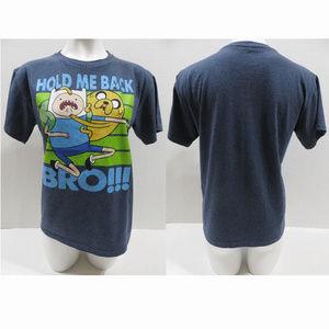 Adventure Time shirt XXL 18 Hold Me Back Bro Finn